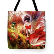 Flying Flower.. Eve Tote Bag