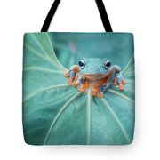 Flying Frog Wallace Tote Bag