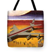 Flying From A Strange Place Tote Bag