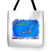 Flying Gull Tote Bag