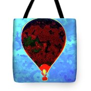 Flying High - Hot Air Balloon Tote Bag