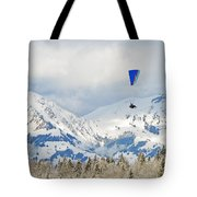 Flying High In Kandersteg, Switzerland Tote Bag