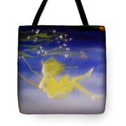 Flying In The Air Tote Bag