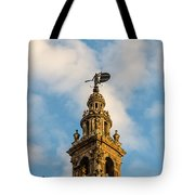 Flying Into The Clouds Tote Bag