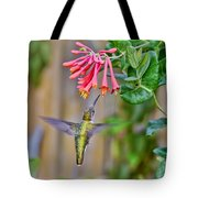 Flying Jewel Tote Bag