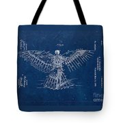 Flying Machine 1889 - Blue Tote Bag