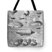 Flying Machines, 1856 Tote Bag