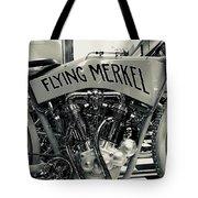 Flying Merkel Tote Bag