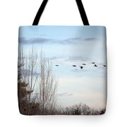 Flying North Tote Bag
