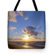 Flying Onshore Two Tote Bag