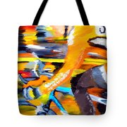 Flying Orange Tote Bag