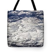 Flying Over Colorado Rocky Mountains Tote Bag