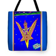 Flying Over The Ocean Tote Bag