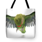 Flying Parrot  Tote Bag
