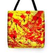 Flying Poppies Tote Bag