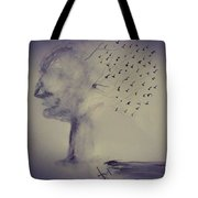 Flying Thoughts  Tote Bag