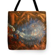 Flying Through Fire Tote Bag