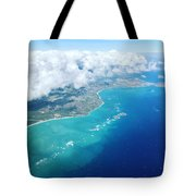 Flying To Paradise Tote Bag