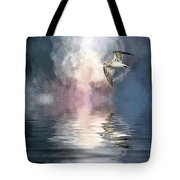 Flying Towards The Light Tote Bag