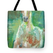 Foal  With Shades Of Green Tote Bag