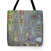 Foam On The Beach Abstract Tote Bag