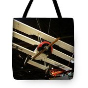 Focker Tri-plane Tote Bag
