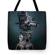Focus In Blue Tote Bag by Break The Silhouette