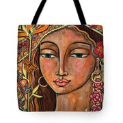 Focusing On Beauty Tote Bag