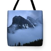 Fog And Clouds Tote Bag