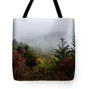 Fog And Drizzle. Tote Bag