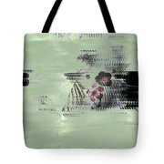 Fog And Flowers Tote Bag