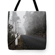 Fog In The Mountains  Tote Bag
