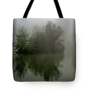 Fog In The Park- Warminster Tote Bag