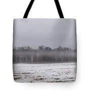 Fog Line Tote Bag