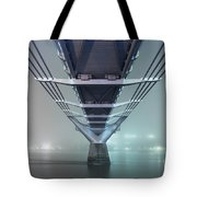 Fog - Millennium Bridge Tote Bag