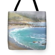 Fog On The Coast Tote Bag by Sharon Weaver