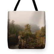 Fog Over The Saint Croix Tote Bag
