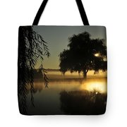 Fog Water And Sun Tote Bag