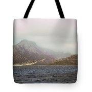 Fog, Wind And Waves Tote Bag