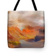 Foggy Autumnal Dream Tote Bag