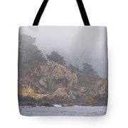 Foggy Day At Point Lobos Tote Bag