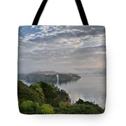 Foggy Days In Bloody Island 3 Tote Bag