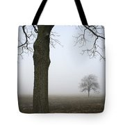 Foggy Field Tote Bag