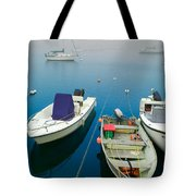 Foggy Morning In Cape Cod Massachusetts  Tote Bag