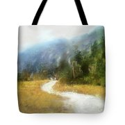 Foggy Morning On Mount Mansfield - 2014 Tote Bag