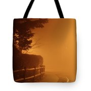 Foggy Night In White Plains Ny 2006 04 Tote Bag