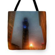 Foggy Night - The Bromo Seltzer Tower Tote Bag