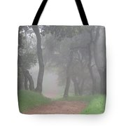 Foggy Trail Tote Bag
