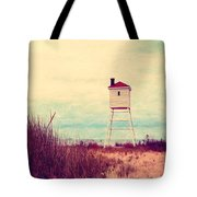 Foghorn At Big Sable Point Tote Bag