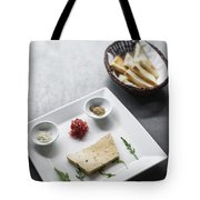 Foie Gras French Traditional Duck Pate With Bread  Tote Bag
